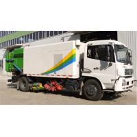 China High Pressure Washing Road Sweeper Truck Special Purpose Vehicles With 8tons on sale