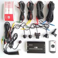 4pcs High Definition 360 Bird View Parking System Flexible Angle Manufactures