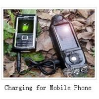 Portable Emergency Outdoor Solar Power Flashlight With Battery Charger SB - 3077 Manufactures