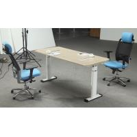 China Height Adjustable Melamine Office Furniture Desk With Strong Wearability on sale