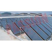 China Durable Solar Thermal Collector , Flat Plate Water Collector For Hotel Swimming Pool Project Heating on sale