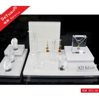 Jewelry Counter Lucite Jewellery Necklace Display Stands Top Grade Manufactures