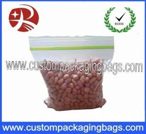 China Transparent Reusable Small Plastic Ziplock Bags / Ziploc Vacuum Storage Bags on sale