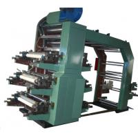 China 6 Colour Flexo Printing Machine For Film, Tissue Aluminum / Web Materials on sale