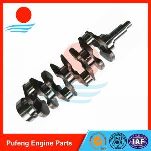 China forged steel crankshaft S4K S4KT OEM 4W3989 4W3579 5I7671 for Caterpillar excavator E110B E120B E307 312B on sale