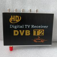 Quality HD car dvb-t2 digital tv receiver with multi language support 1080P Car TV Tunner for sale