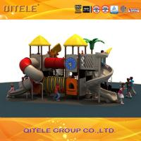 Quality Qitele Children commercial play games playground for amusement park for sale