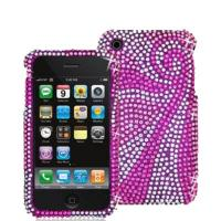 Purple Diamond Case Cover For Apple Iphone 4G/4GS Manufactures