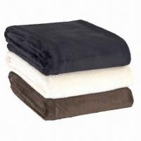 Polar Fleece Blankets with Stitched Edges, Available in Pantone Manufactures