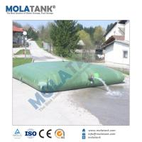 Molatank 500L to 500,000L Customized plastic flexible pvc water tank for water treatment Manufactures