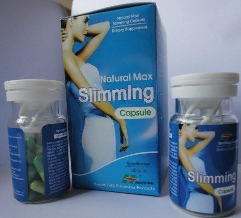Quality Green Natural Max Slimming Capsule Original Herbal Appetite Suppressant Slimming Pills for sale