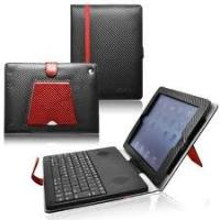Apple ipad2 Soft Case Stereo spaker Bluetooth keyboard leather case Support Iphone 3G Manufactures