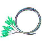 1.5 Meter SC Fiber Pigtail , Single Mode SC APC Pigtail For FTTX Applications Manufactures