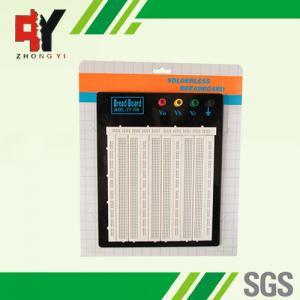 Big Size Soldered Breadboard Electronic Prototype Board 4 Binding Posts Manufactures