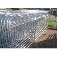 Heavy Duty Livestock Gates And Panels , Wire Mesh Galvanized Farm Gates Manufactures