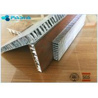 Anti Shock Perforated Type Aluminum Honeycomb Core For Building Exterior Walls Manufactures