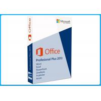 Genuine Computer Software System Office 2013 Professional 32 / 64 Bit For 1 PC Manufactures