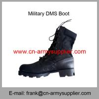 Wholesale Cheap China Army Split Leather Military Jungle Boots With Panama Sole Manufactures