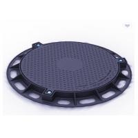 China Professional Ductile Iron Manhole Cover Spray Paint Easy To Assemble Customize on sale