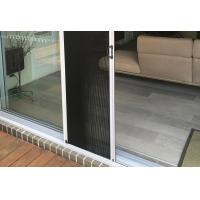 Buy cheap Aluminum Alloy Plisse Retractable Fly Screen Doors Easy Installation from wholesalers