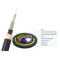China ADSS Double Jacket Optical Fiber Cable 200m Span G652D FOYC / Corning Fiber on sale