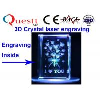 3W Mini Laser Engraver Low Cost , Subsurface Engraving Machine For 3D Photo Crystal