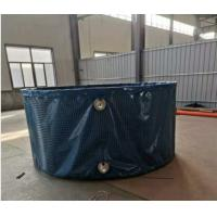 China Non - Toxic Steel Mesh Pvc Collapsible Water Tank Portable Fish Farming on sale