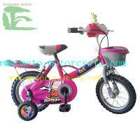 Protective Steel Fork / Stem 12 / 14 Children Bicycle With BMX Saddle Manufactures