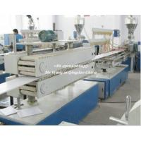 CaCO3 PVC Wall Panel Profile Extrusion Machine Professional Customize Manufactures