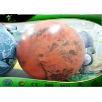 Large Inflatable Advertising Balloons , Inflatable Planet Balloon For Advertising for sale