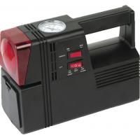 Square Black Plastic Air Compressor For Car Tyres 3 In 1 Black And Red Manufactures