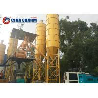 100 Ton Cement Silo With Vibrators For Grain / Fly Ash / Bulk Material Storage Manufactures