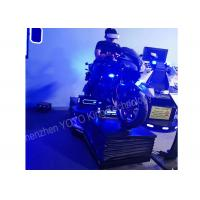 Car Driving 9D VR Simulator Motorcycle Racing Game Vr 110-240V For Game Zone Manufactures