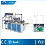 Double Lines Plastic Bag Making Machine 100pc/min For Convenient Bag Manufactures