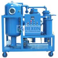 Industrial Oil And Water Separator , Vacuum Oil Dehydration Plant TYA-D-4000 Manufactures