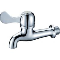 Wall Mounted Brass CE Single Hole Washer Taps with Flat Handle Switch HN-5F06 Manufactures