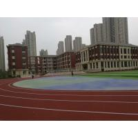 Noise Reduction EPDM Running Track , Athletic Stadium EPDM Crumb Rubber Surface Manufactures
