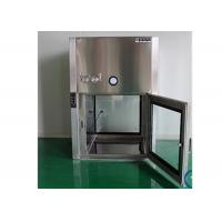 GMP Standard Dynamic Air Shower Pass Box For Pharmaceutical Factory Manufactures