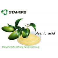 Anti - Inflammmatory Antibacterial Plant Extracts Olea Extract Oleanic Acid CAS 508 02 1 Manufactures