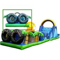 Advertising Inflatable Obstacle PVC For Different Size For Children Manufactures
