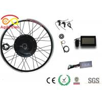 High Speed Electric Powered Bicycle Kit , Rear Hub Electric Bike Kit With LCD Display Manufactures