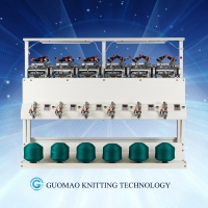 China Computer Control Wool Bobbin Yarn Winding Machine on sale