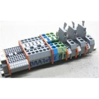 China Din Rail Terminal Block with Spring-Cage Clamp Connection on sale
