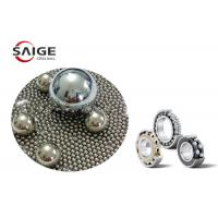 High Strength 304 Stainless Steel Balls For Bearing / Pumps Anti - Oxidation Manufactures