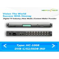 8 Turner FTA IRD Digital TV Satellite Receiver Support DVB-C DVB-S / S2 With 1000Mb Ethernet Ports Manufactures
