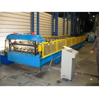 Roof Panel Roll Forming Machine 5.5kw with Hydraulic Cutting Type Manufactures