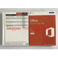 Microsoft Office 2016 Home And Business OEM Software PKC / Retail Version Manufactures