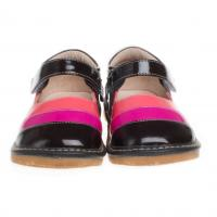 fancy leather squeaky baby shoe SQ-A11305CF Manufactures