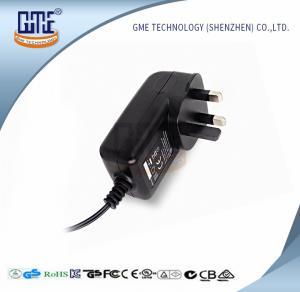 TV Set AC DC Power Adapter UK Plug Wall Mount 550mA max Input current Manufactures