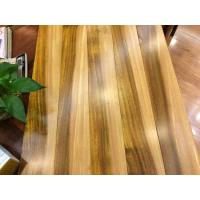 Multi colored African iroko solid wood flooring Manufactures